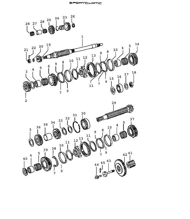 Porsche 914 Transmission Snap ring SB 27