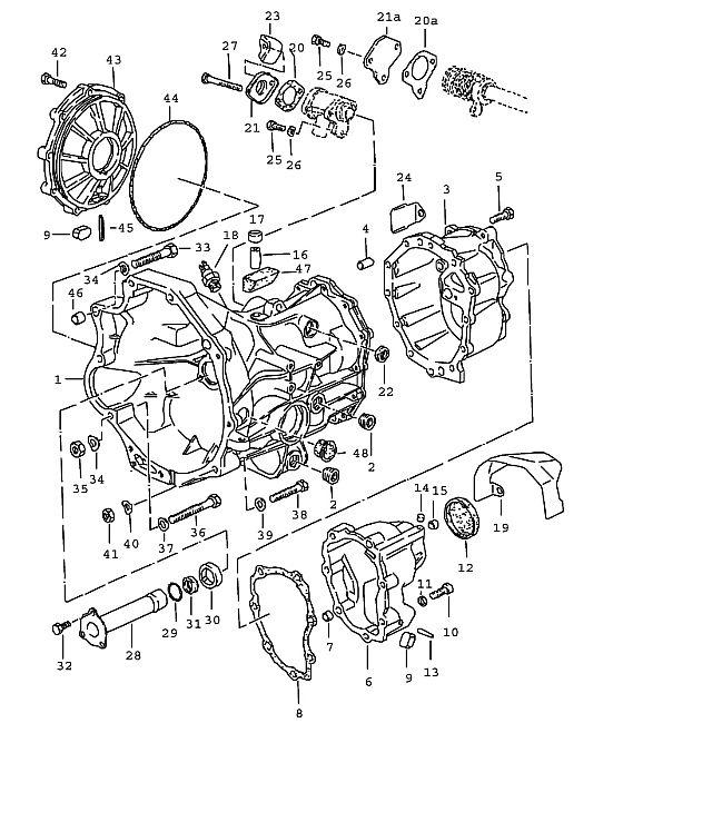 Porsche 924 Transmission Spring washer B 12