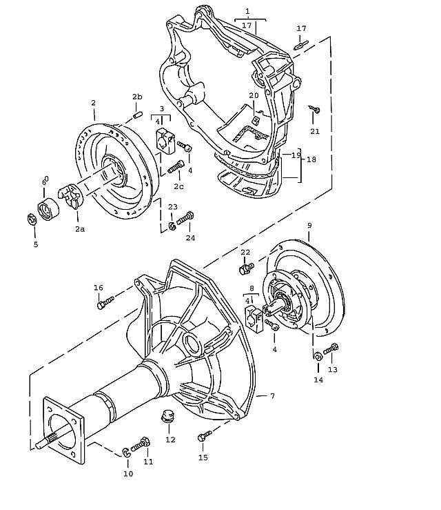 Porsche 924 Transmission Lock ring B 10