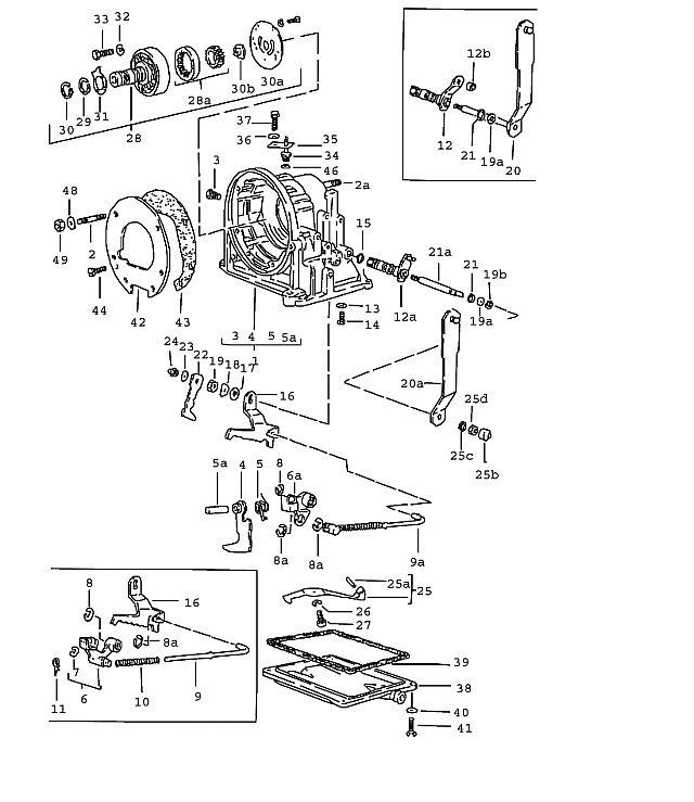 Porsche 924 Transmission Operating Rod