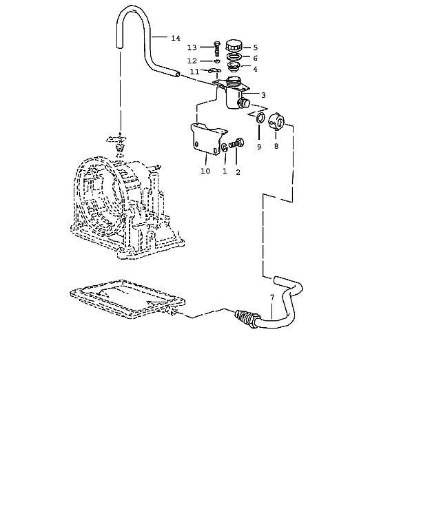 Porsche 924 Transmission Lock washer