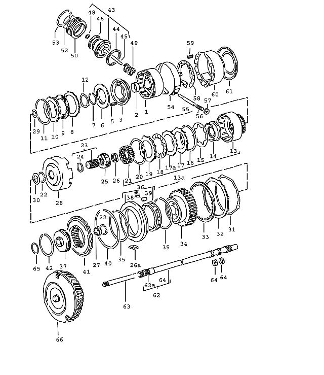 Porsche 924 Transmission Pressure Plate