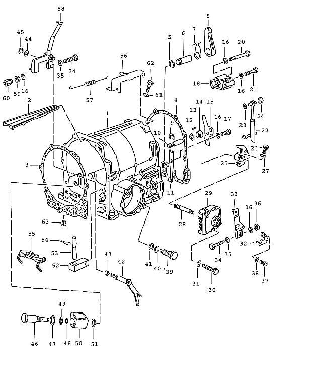 Porsche 928 Transmission Control Magnet
