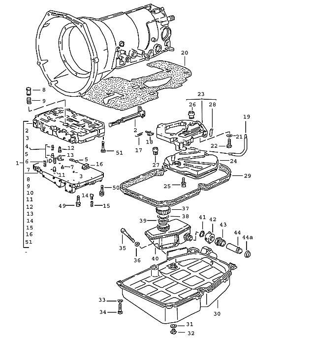 Porsche 928 Transmission Screw M 6X55