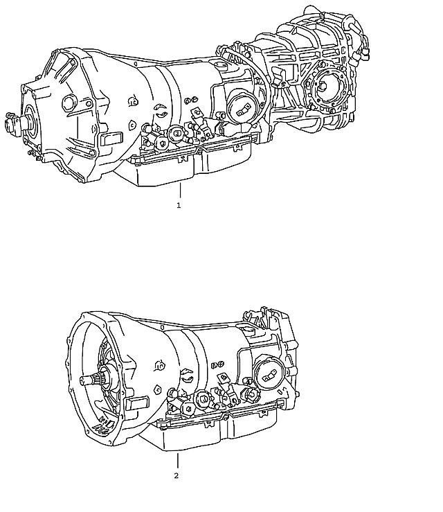 Porsche 928 Automatic Transmission 1987-91