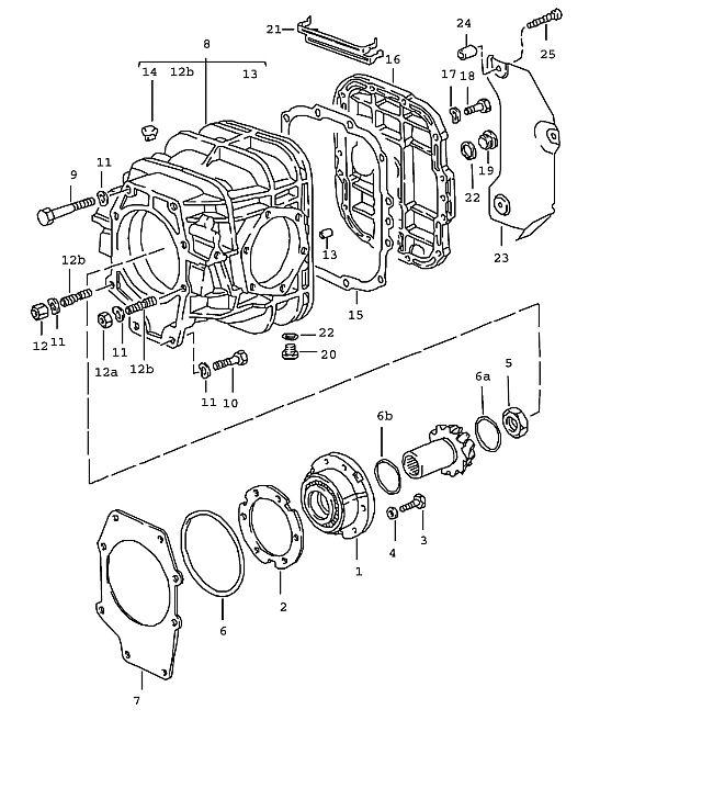 Porsche 928 Transmission Nut