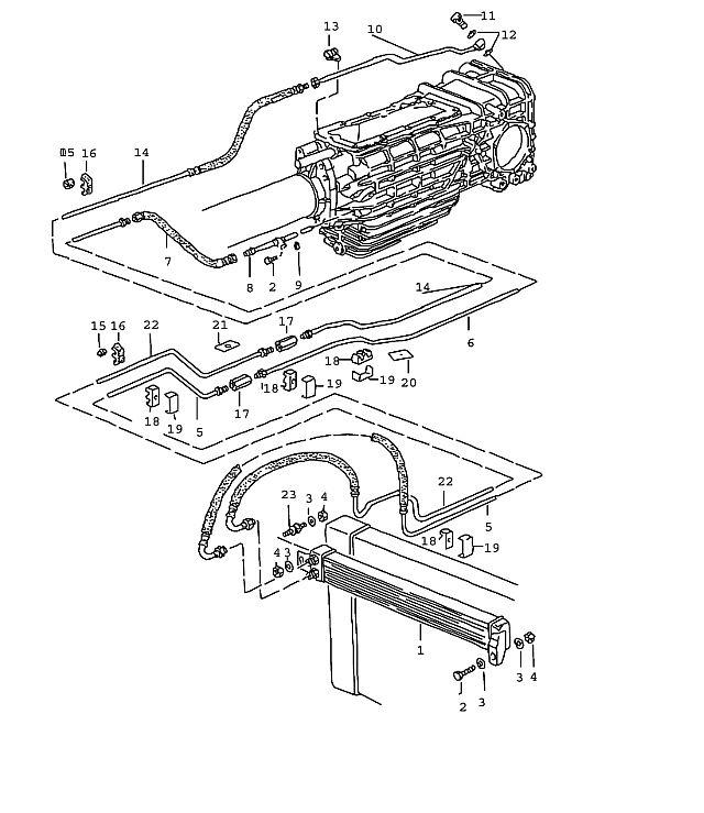 Porsche 928 Transmission Plate