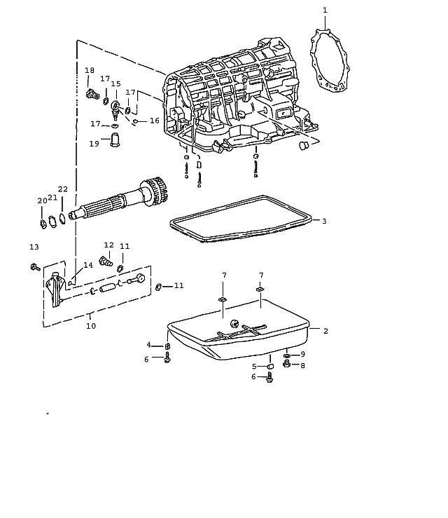 Porsche 911 Transmission Sealing ring a 12x15.5