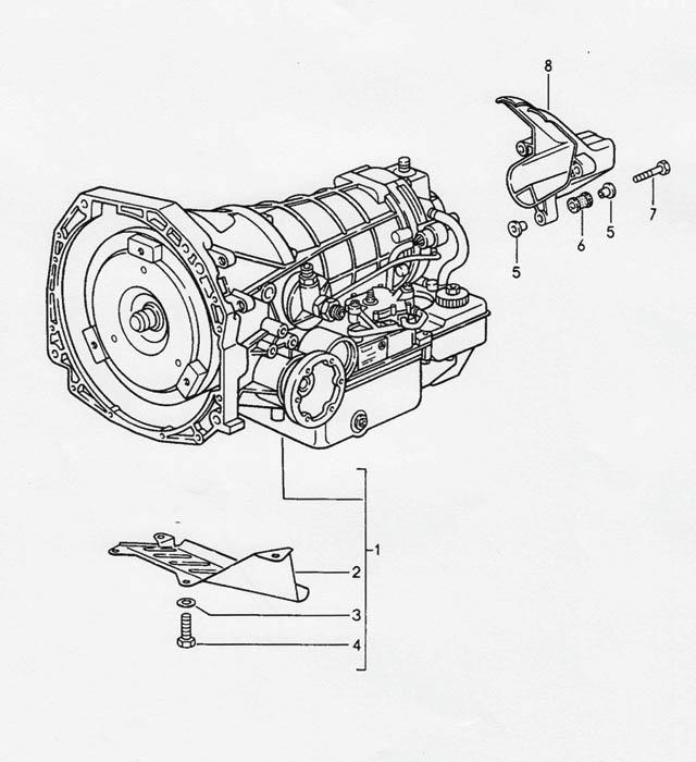 Porsche 968 (A44) Transmission 1992-95