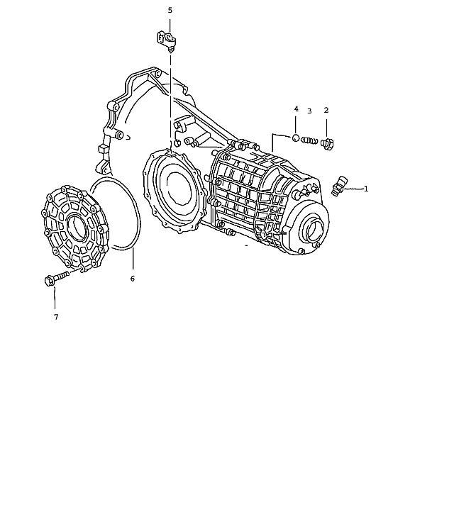 Porsche Boxster Transmission Clip