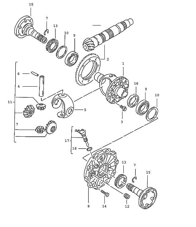 Porsche Boxster Transmission Shim 0.60