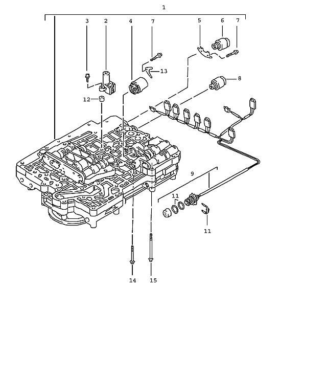 Porsche BoxsTransmission ter Pressure Regulator