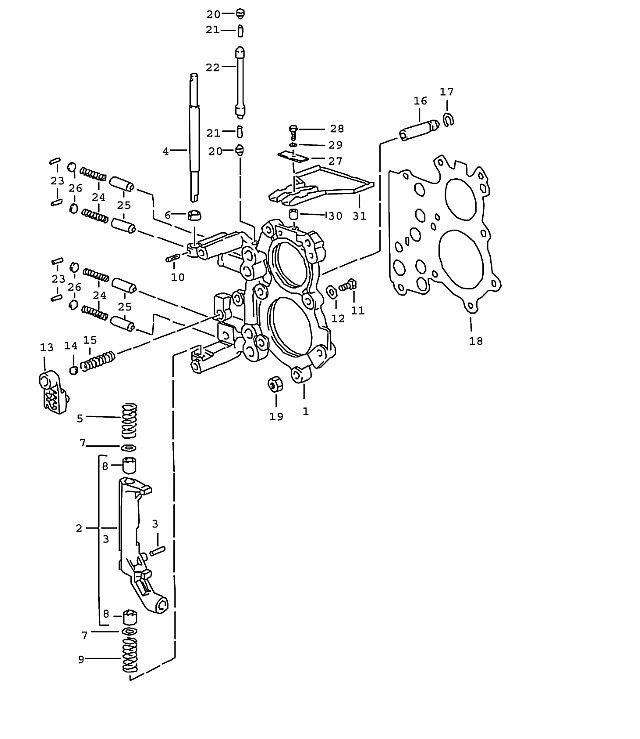 Porsche 911 Transmission Needle-roller bearing 4 H11X16