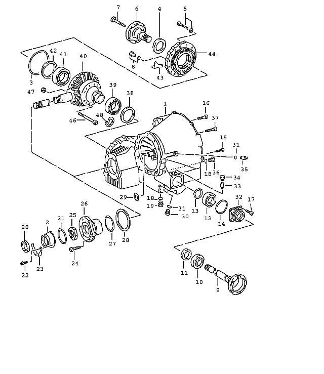 Porsche 911 Transmission Adjusting Shim 1.15-Mm