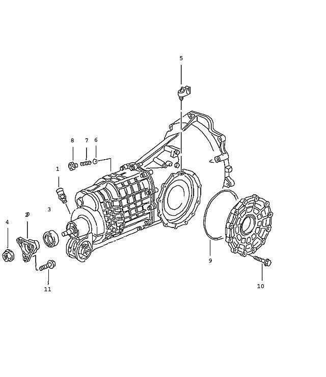 Porsche 911 Transmission O-Ring 190X3
