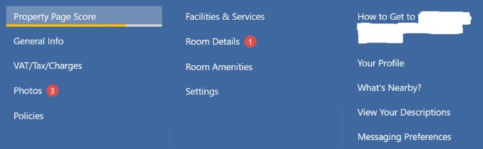 Top Categories to Audit on your Booking.com Extranet