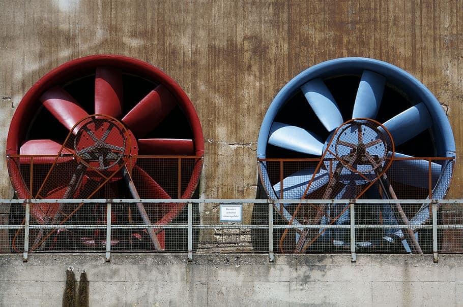 commercial mushroom exhaust fan