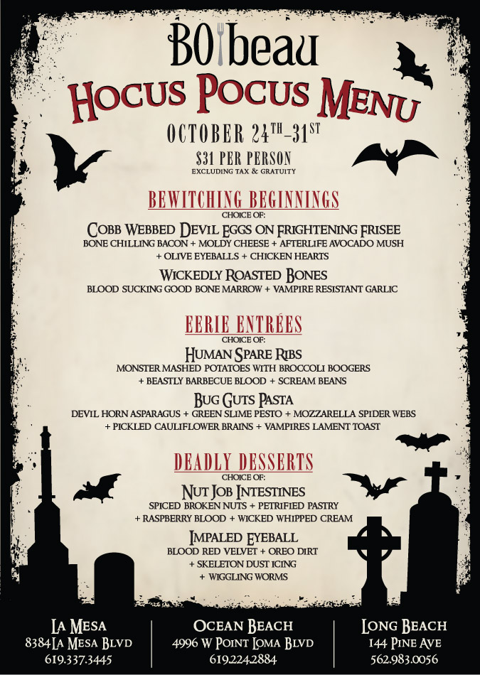 Hocus Pocus at BObeau kitchen  rooftap  Cohn Restaurant