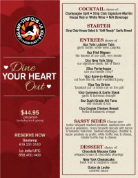 Gaslamp Strip Clubs Valentines Day Menu - Cohn ...