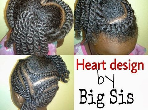 Fantastic Video How To Cornrow Your Kids Natural Hair Coils Glory Hairstyles For Women Draintrainus