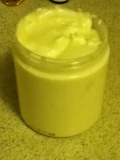 Whipped Lavender Shea Butter Mousse for smooth skin and hair