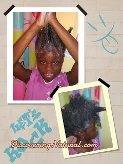 Deep Conditioning Your Afrokid's Natural Hair
