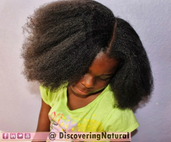 How to Blow Dry Your Kid's Natural Hair in 4 Steps