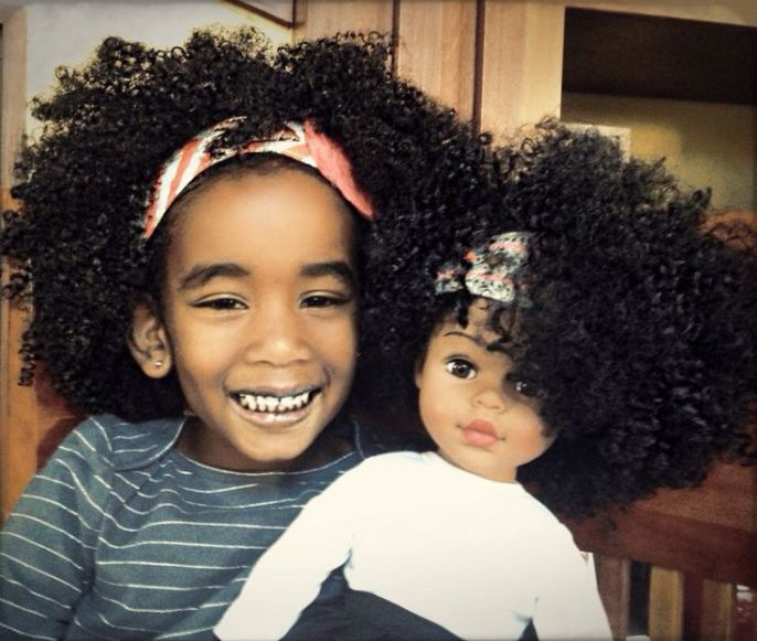 3 Reasons Why I've Never Straightened My Girls Natural Hair