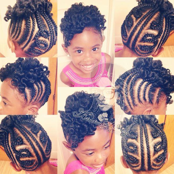 12 Holiday Hairstyles for Kids with Natural Hair - Coils & Glory