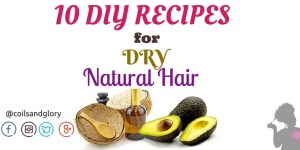 DIY recipes for soft natural hair