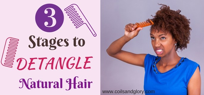 Three Best Times To Detangle Your Natural Hair Without Pain