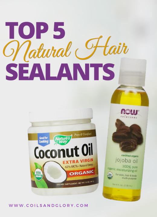 TOP 5 NATURAL HAIR SEALANTS