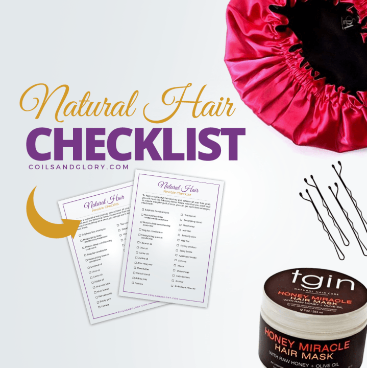 natural hair checklist