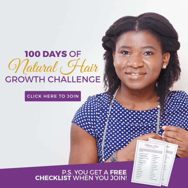 natural hair growth challenge