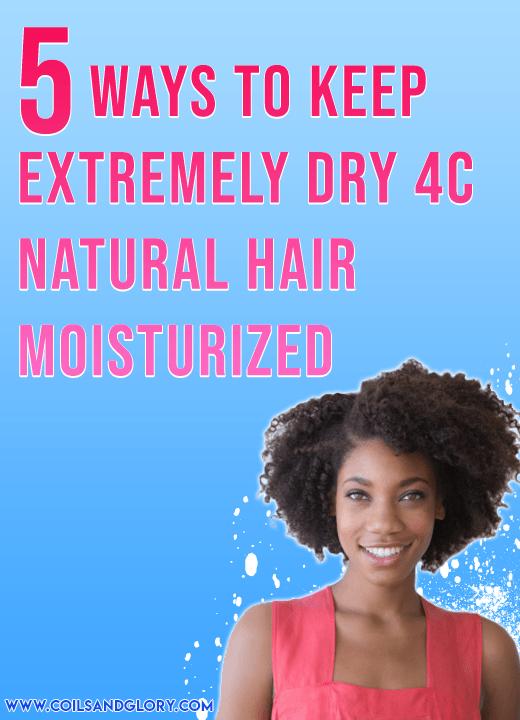 dry natural hair