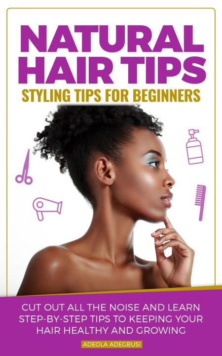 natural hair styling tips