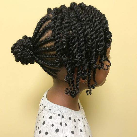 african american kid's hairstyle