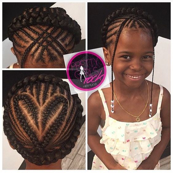 10 Cute Back To School Natural Hairstyles For African American