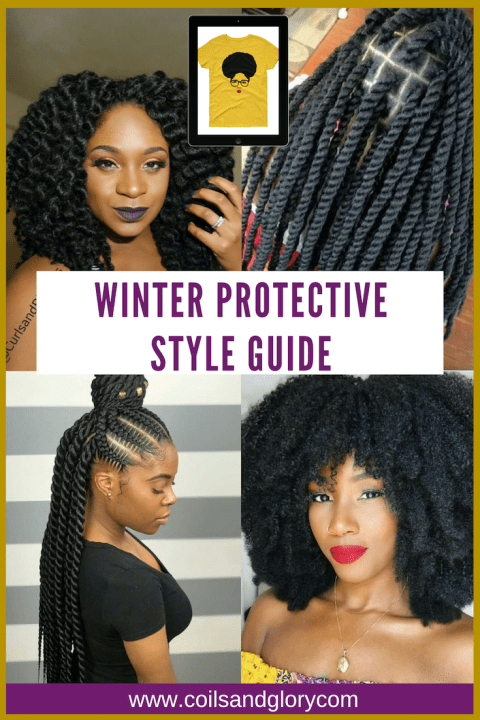 10 Winter Protective Styles For 4c Natural Hair Coils Glory