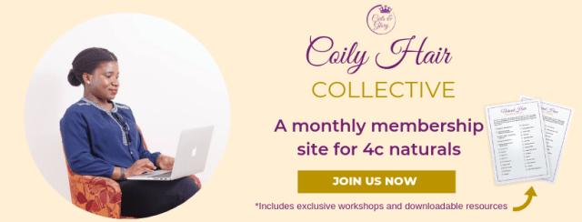 4c hair growth tips membership site