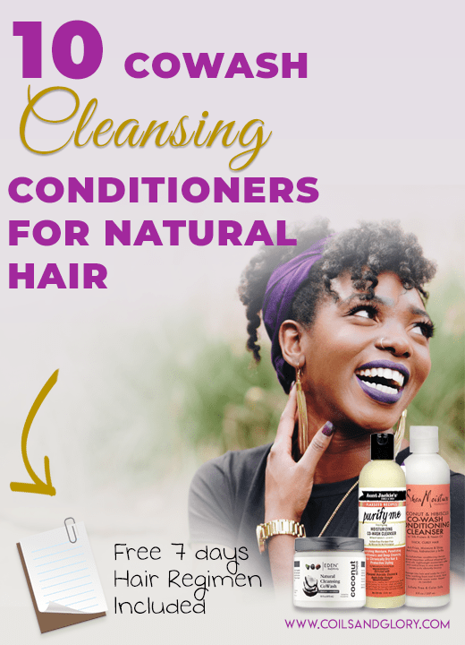 Ten Best Co-Wash Cleansing Conditioners For Dry Natural Hair