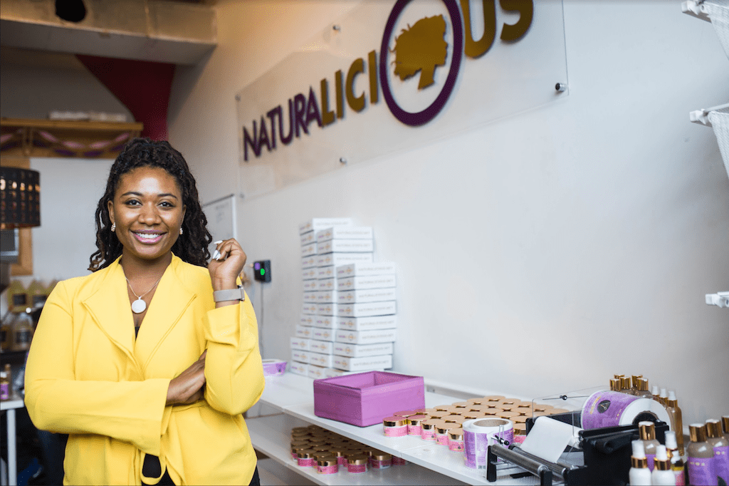 black owned natural hair products brand holiday