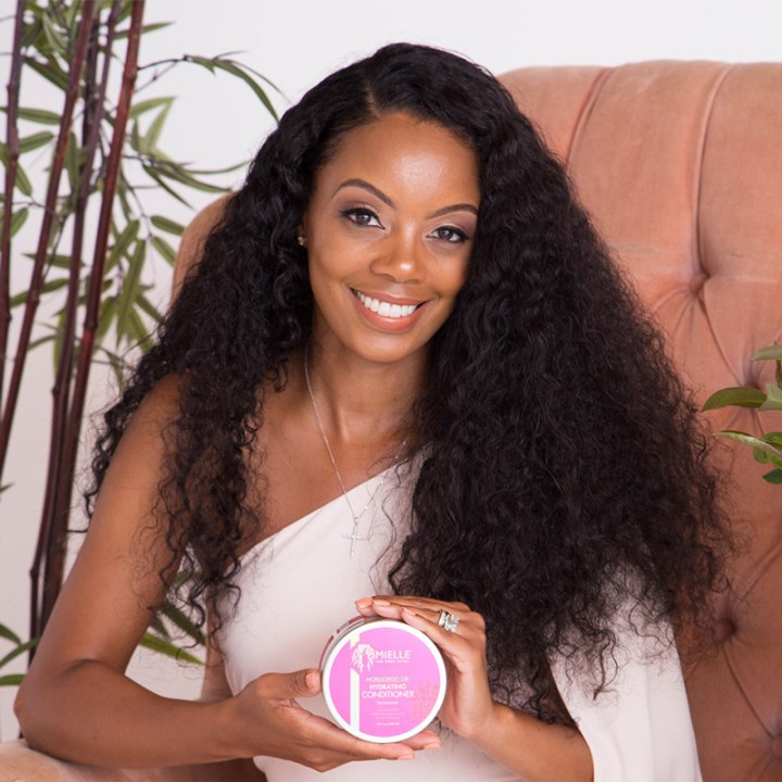 black owned natural hair product brand christmas