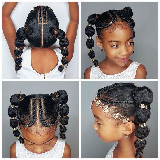 natural hair kids holiday hairstyles