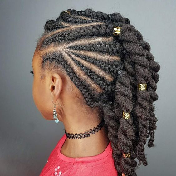 holiday hairstyles for natural hair kids