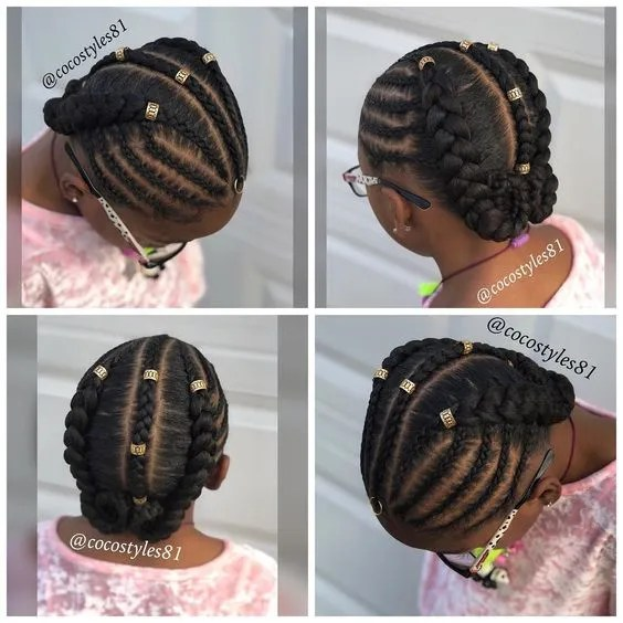 black girls hairstyles for kids