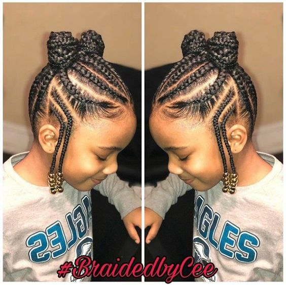 12 Easy Winter Protective Natural Hairstyles For Kids Coils Glory
