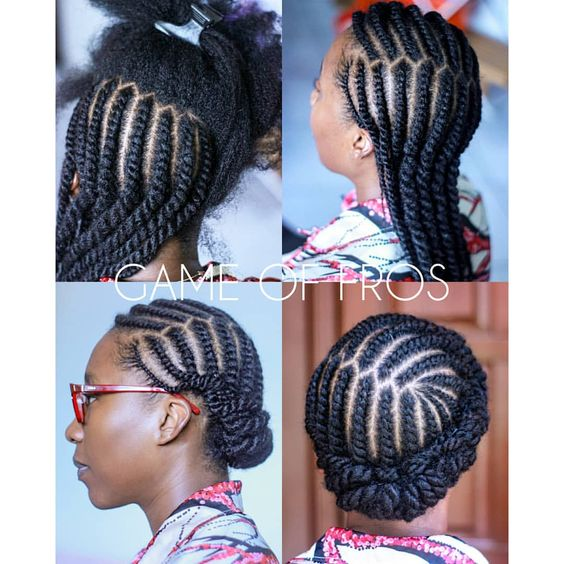 natural hair winter protective hairstyles