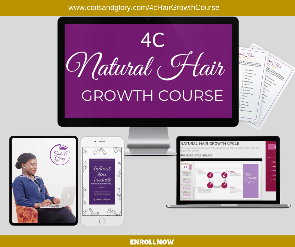 4c natural hair growth course