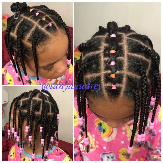 toddlers hairstyles with rubber bands